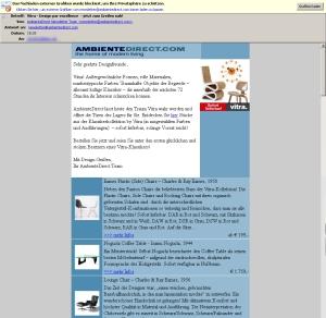Abb. 3: AmbientDesign.com bietet 19kb ohne vs. 65kb mit Bildern