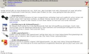 Abb. 4: Der GetDigital-Newsletter besitzt 5kb ohne und 23kb mit Bildern