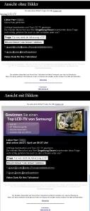 adRom: Samsung LCD-TV-Gewinnspiel