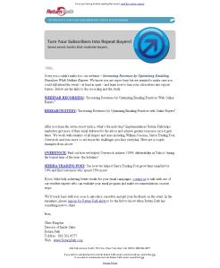 Nachreichung des Webinars für Anmelder, die nicht erscheinen konnten