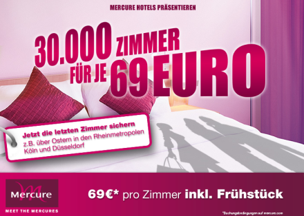 Mercure Hotels Kampagnenmail (Quelle: Optivo.de)