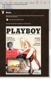 """Playboy """"Bunnies@Home""""-Kampagne mit personalisiertem Bild in der E-Mail und personalisiertem Video"""
