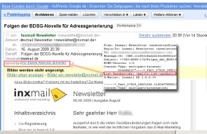 Inxmail setzt List-Unsubscribe um - Googlemail akzeptierts. ;-)