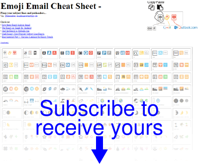 822 Emoji for your Newsletter Subject Lines [incl  Cheat Sheet]